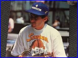 Ayrton Senna Senninha Comic Book Poster Rare From 1994