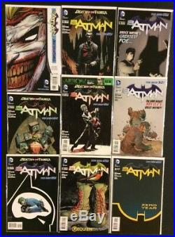 BATMAN #1 CGC 9.0 +#0-52 Annuals DC New 52 FULL SERIES Scott Snyder JOKER POSTER