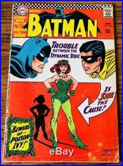 BATMAN #181 (KEY) 1st Appearance of Poison Ivy! (poster missing) (DC Comics)