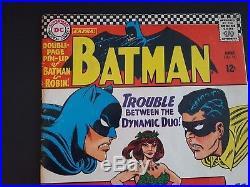 BATMAN #181 SILVER AGE 1st App Poison Ivy NO POSTER AFFORDABLE -HARLEY /JOKER