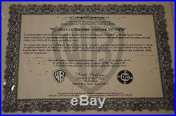 BATMAN/CATWOMAN Gotham By Night L/E Lithograph signed by JIM BALENT PRISTINE