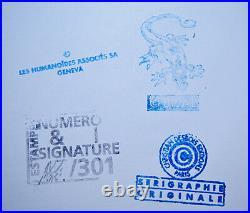 BILAL FINCH SÉRIGRAPHIE NUMÉROTÉE -/301 et SIGNÉE
