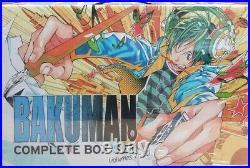 Bakuman Manga Box Set Complete Series Volumes 1-20 with Poster Tsugumi Ohba New