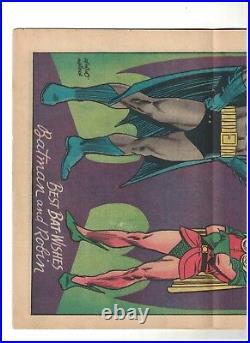 Batman 181 Dc comics poison Ivy 1st appearance inc Pin up poster VG 4.0