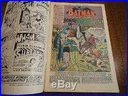 Batman #181 Rare Silver Age Key 1st Poison Ivy No Poster Detective DC Comics
