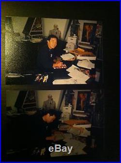 Batman & Superman JIM LEE S/N AP16 LE Lithograph Warner Bros Store Gallery DC