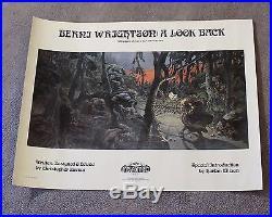 Berni WRIGHTSON A Look Back Land of Enchantment 1978 Harlan Ellison Poster VGFN