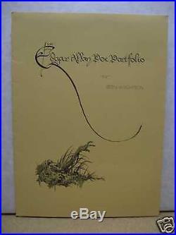 Bernie Wrightson Edgar Allan Poe Portfolio (signed & numbered) (USA)