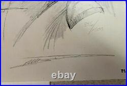 Bill SIENKIEWICZ - 1981 Moon Knight Portfolio - #886/1500 SIGNED - 11X14