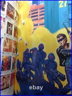 Bubblegum Crisis Art Book B-Club Special RARE Anime Kenichi Sonoda Japan Comic