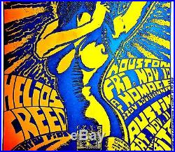 Butthole Surfers Signed Early Kozik 1989 Original Punk Poster Austin Rare