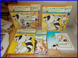 Candy Candy Col Disco Dal N. 1 Al 24(-23)+3 Contenitori Ed. Fabbri+depliant+poster