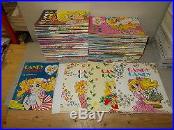 Candy Candy Fabbri 1° Edizione 1980 Copertine Cartonate N. 1-2-3 + 2 Poster