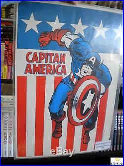 Capitan America 1/128 Serie Completa -editoriale Corno-poster/adesiviottimo