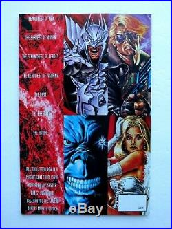 Complete Set of 4 MARVEL MASTERPIECES Poster Books Auto. Artist JOE JUSKO withCOA