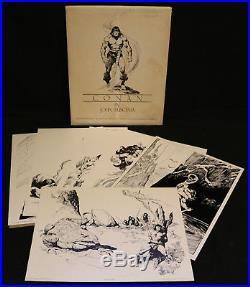 Conan Portfolio Plates Six 1980 #967 / 2000 Signed by John Buscema
