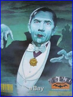 Crestwood House Dracula Poster Monster Series Library
