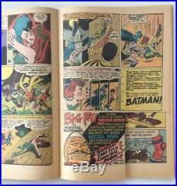 D. C BATMAN #181 1st app. POISON IVY SILVER AGE COMIC WITH POSTER BUT