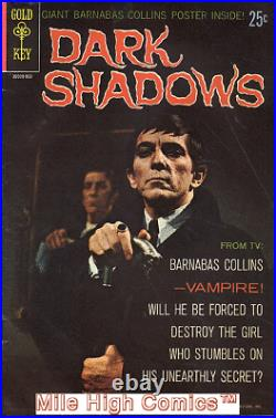 DARK SHADOWS (1969 Series) (GOLD KEY) #1 WithO POSTER Fine Comics Book