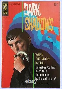DARK SHADOWS # 3 4 5 LOT OF 3 / Poster Intact / High Grade 1969 Gold Key Comics