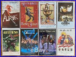 DC Comics 2015 Movie Poster Variant Covers COMPLETE SET VERY RARE 22 x Comics