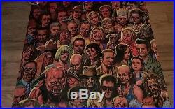 DC Comics Preacher comic book characters poster Glenn Fabry 2000 Rare AMC TV OOP