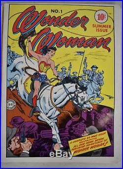 DC Super Heroes Poster Book Treasury Batman Superman Justice League