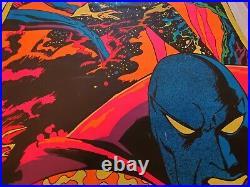 DR STRANGE AND ETERNITY MARVEL THIRD EYE Black light poster TE4007 GENE COLAN