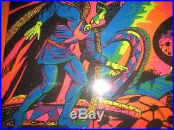 DR STRANGE The Search VINTAGE Marvel THIRD EYE BLACK LIGHT Poster Beautiful
