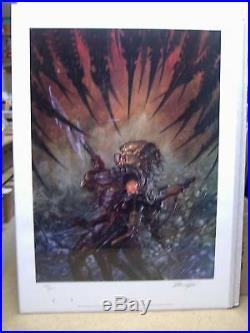 Dave Dorman Aliens vs. Predator Print (signed & numbered) (USA)