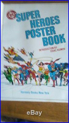 Dc comics super heroes poster book