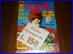 Devil Numero 50 Con Adesivi E Poster Blisterato Per Perfezionisti