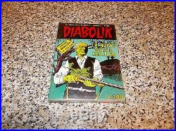 Diabolik Anno X N. 20 Con Poster/manifesto Sigillato Blisterato Originale Edicola