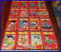 Dragon Ball Box set (1 16) English Manga Graphic Novel no poster or booklet