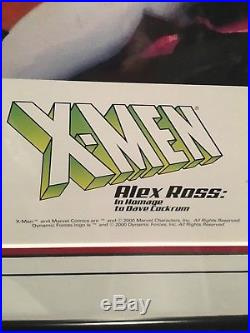 Dynamic Forces Alex Ross X-Men Lithograph In Homage to Dave Cockrum 37/2500