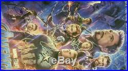 END GAME Premiere Signed Movie Poster Avengers Marvel Comic Captain Spider-Man 1