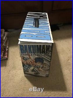ENGLISH Bakuman Complete Box Set Volumes 1-20 (plus bonus comic and poster)