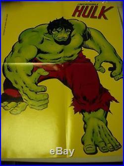 Edigamma Poster Manifesto Hulk 1981 John Romita Marvelmania Corno