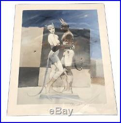 Enki Bilal White Queen, Black King, Estampe pigmentaire 30ex signée 80x60 cm
