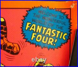 FANTASTIC FOUR MARVEL THIRD EYE Black light poster TE4012 JACK KIRBY