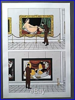 FLOC'H Sérigraphie MUSEE Champaka