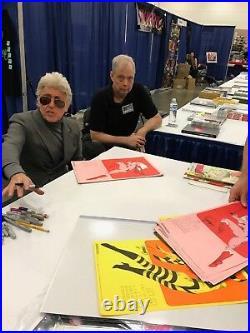 FOOM Membership Kit POSTER Marvelmania 1973 HAND SIGNED Jim Steranko 1st Print