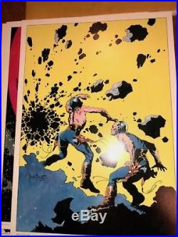 FRANK FRAZETTA FAMOUS FUNNIES COVERS PORTFOLIO, 1975 everything NM++ as issued