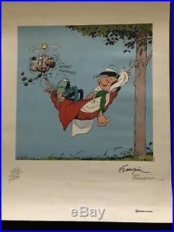 FRANQUIN SÉRIGRAPHIE de 1984 limitée à 1500 exemplaires. NUMÉROTÉ ET SIGNÉE