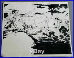 Fantastic Four & Silver Surfer vs Mephisto 1982/83 GEORGE FREEMAN Original Art