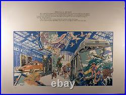 Forest Sérigraphie numérotée Ed. France Rail 1982 Comme neuf