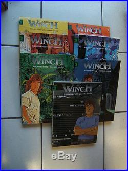 Francq / Largo Winch / Tome 1 A 14 / Eo Avec 7 Coffrets / T 1 Avec Poster