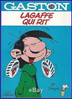 Franquin. Lagaffe Qui Rit. Album Pub. Vache Qui Rit + Poster + 18 Autocollants