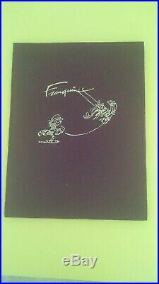 Franquin Sérigraphie Gaston Et Longtarin Le Parcmètre Rare 350 Exemplaires. N S