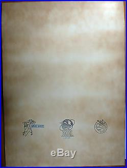 Franquin Sérigraphie signée Le camion 1985 TBE